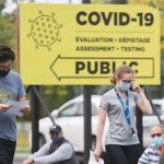 COVID-19 cases continue to surge in Ontario and Quebec